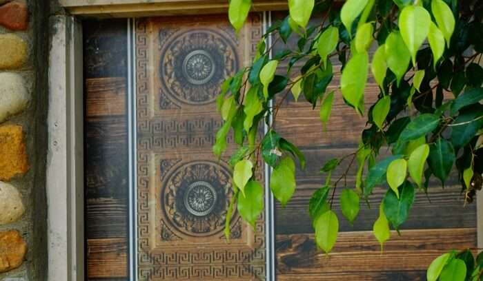 anitique styled doors