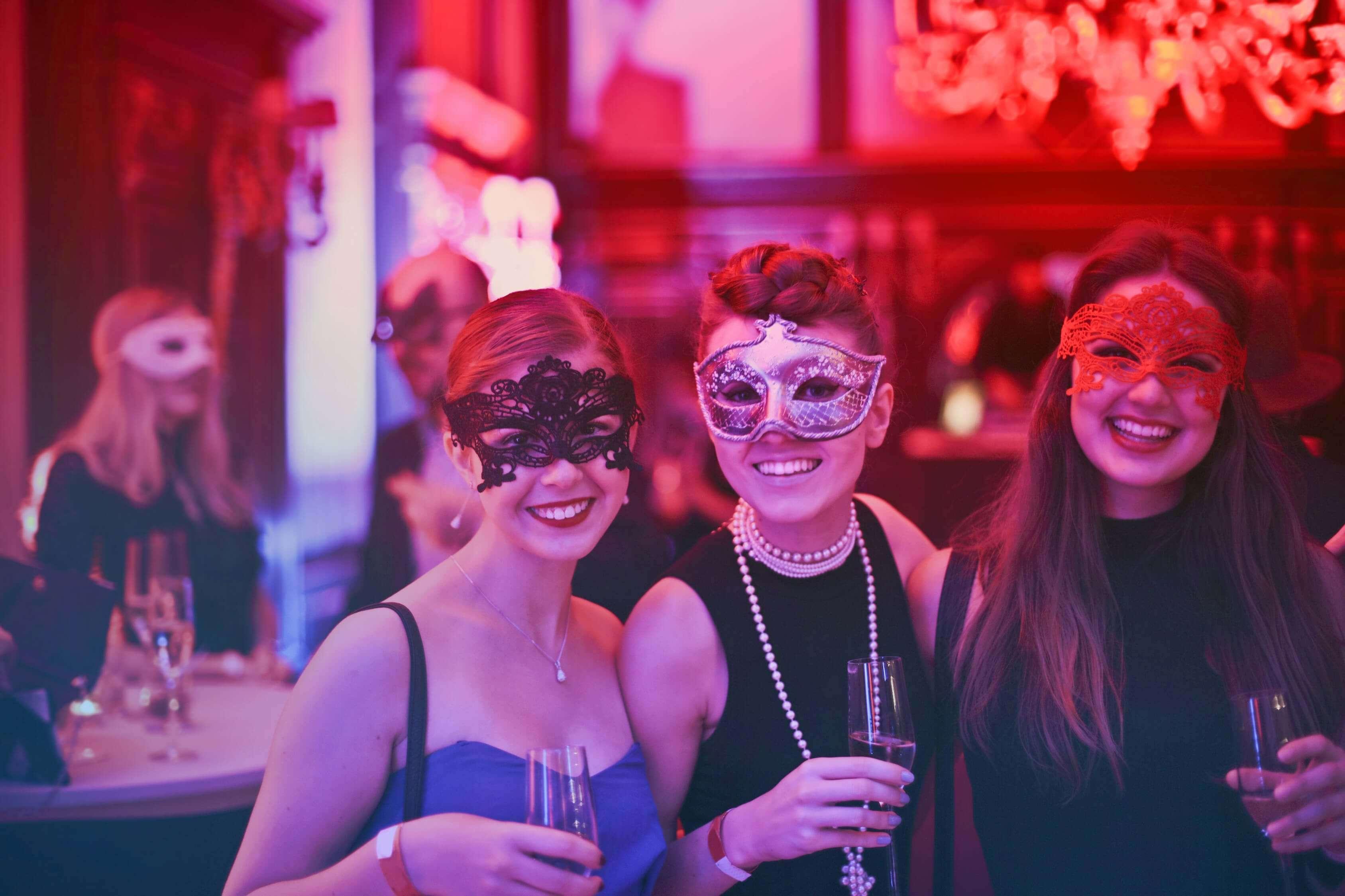 Dance At A Masquerade Ball