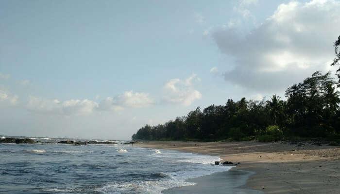 View of Kihim Beach
