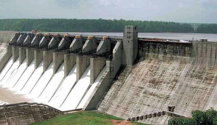 Gangau Dam in Khajuraho