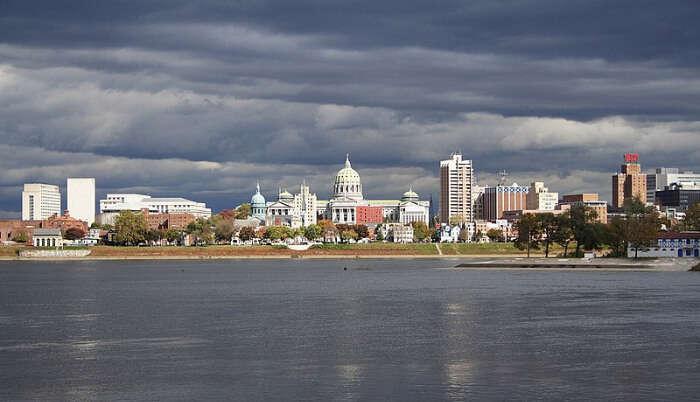 Harrisburg City in Pennyslavia