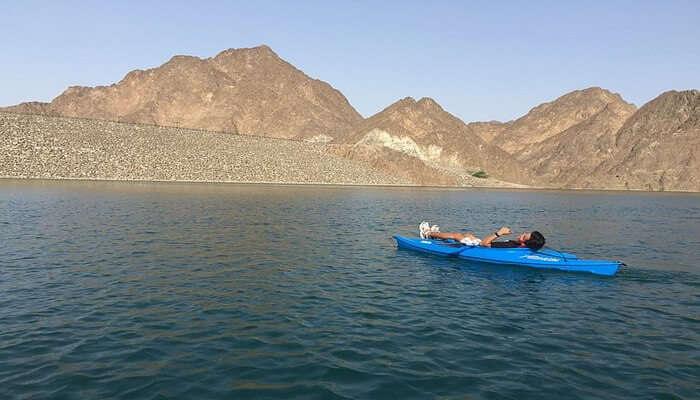 Hatta Kayak at Hatta Dam