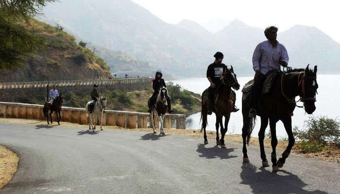 Horse riding in Udaipur