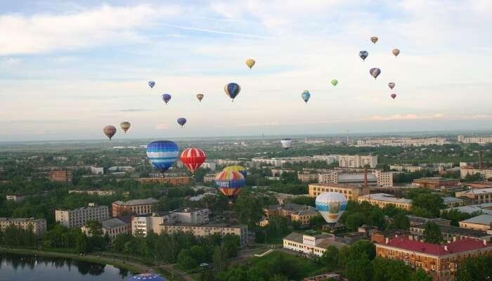 Hot Air Ballooning in Dimitrov