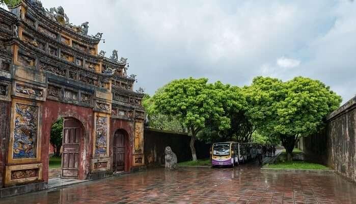 Sightseeing in Hue, Vietnam