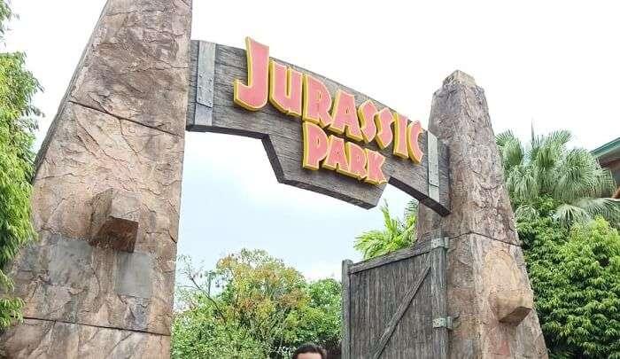 jurassic park in singapore