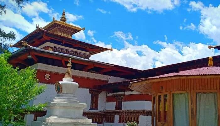 visited to the museum of Bhutan