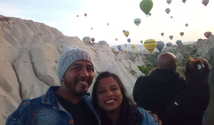 beautiful sight to witness hot air balloons