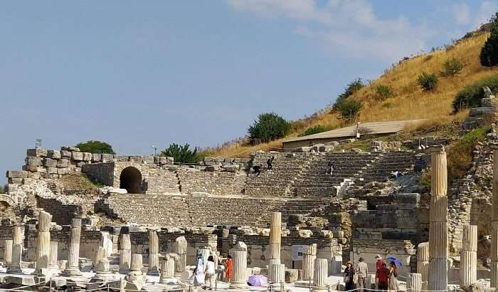 visited to the ancient city of Turkey