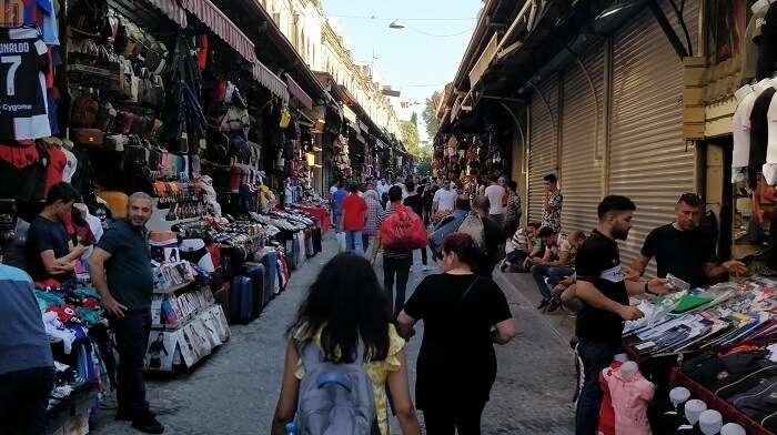 visting to the grand bazar