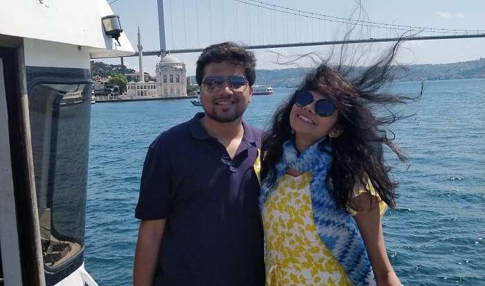 at the Bosphorus cruise