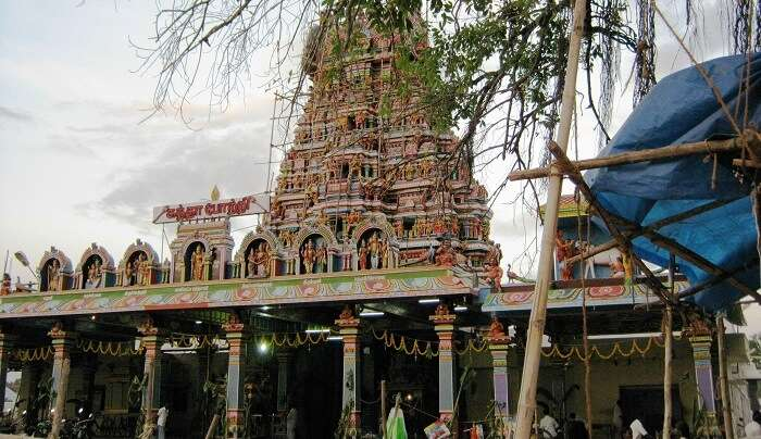 richest and oldest temples in this area