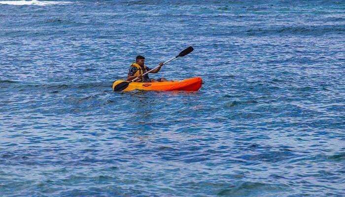 Kayaking in alibaug