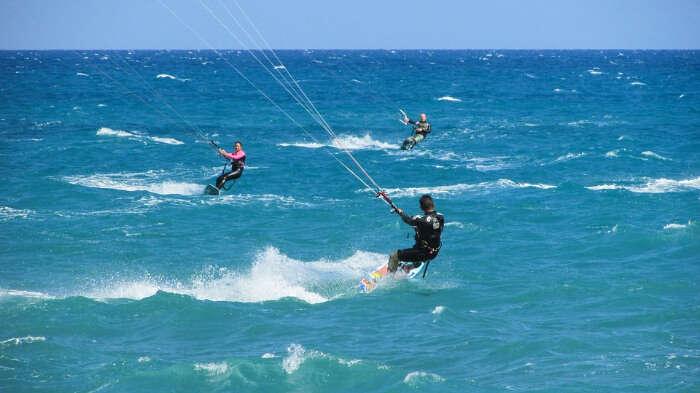 Kiteboarding Expeience in Thailand