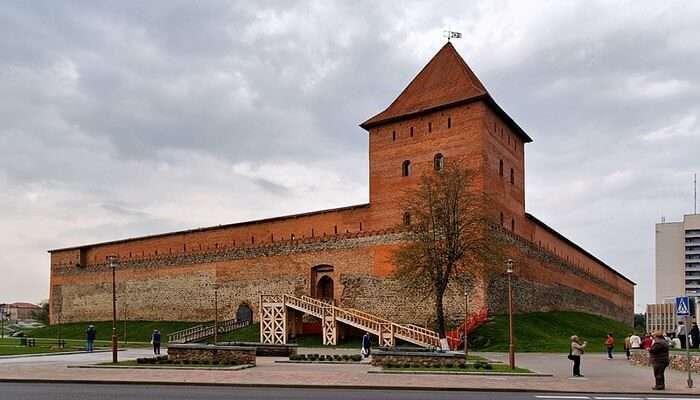 Lida Castle in Lida