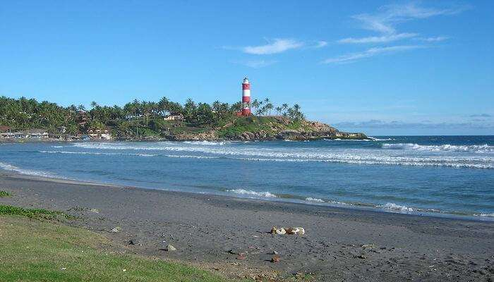 Lighthouse Beach in Kovalam