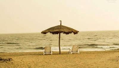 Mandvi Beach in Gujarat