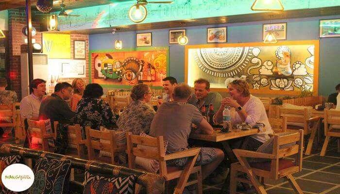 Mangi Ferra Café In Varanasi