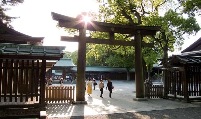 Shinto holy place