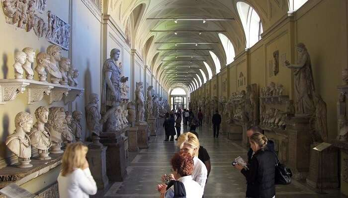 Art lovers often visit this place
