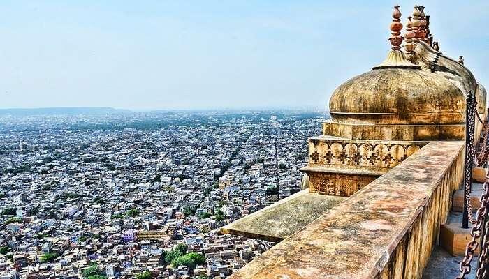 Nahargarh Fort's view