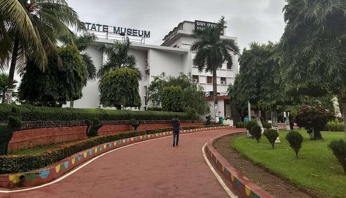 Odisha State Museum Front