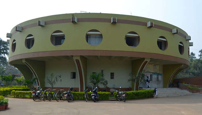 A Planetarium From Outside