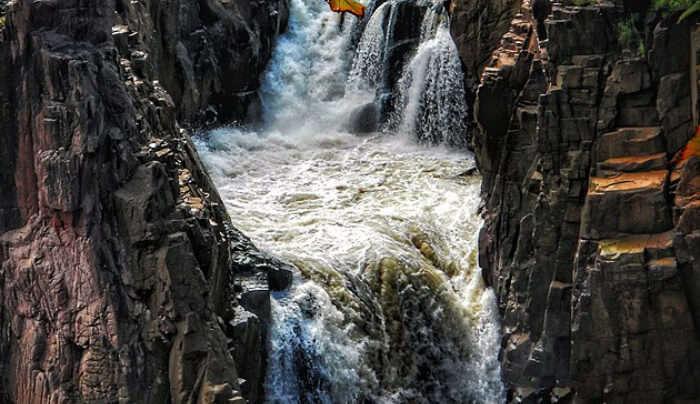 Raneh Waterfalls in Khajuraho