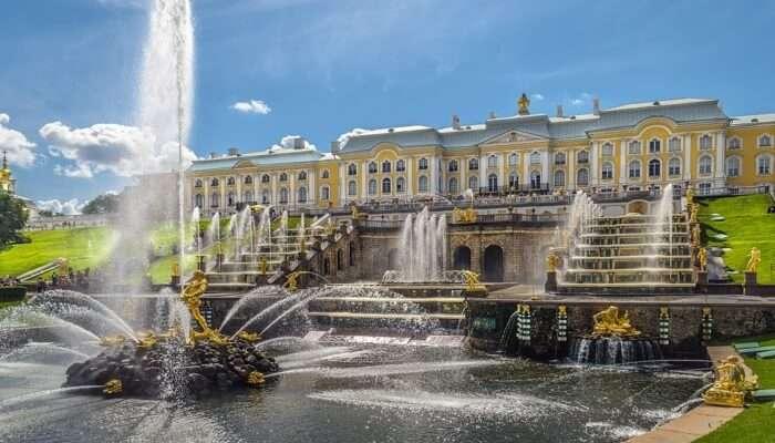 Royal Appeal in Peterhof