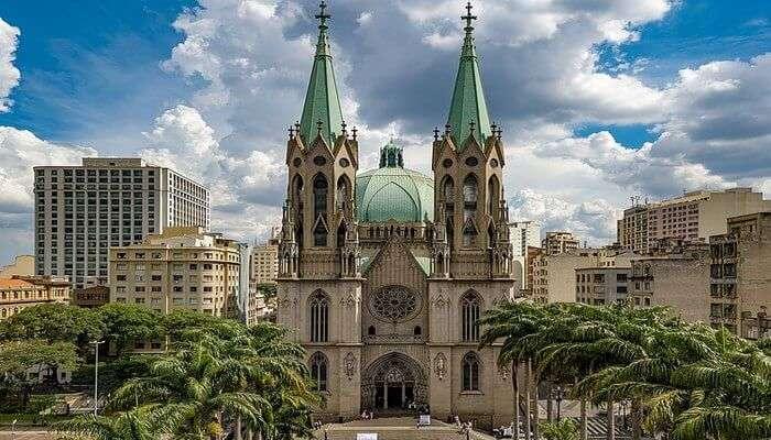 São Paulo Cathedral View
