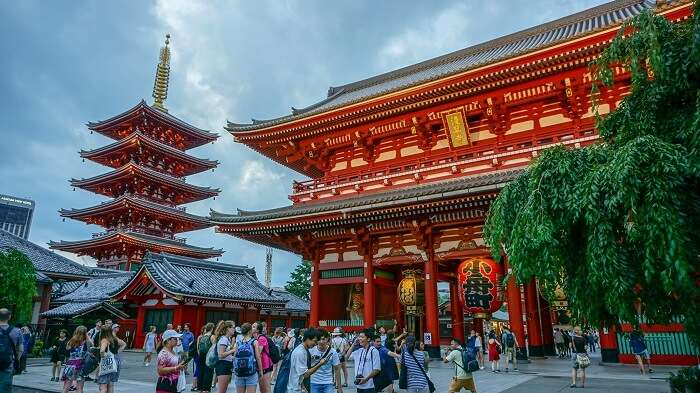 antiquated Buddhist temple