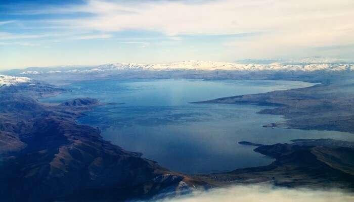 Lake in Armenia