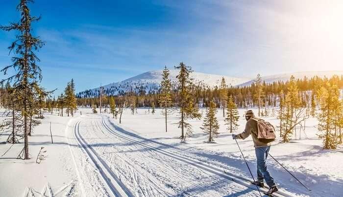 skiing enthusiast