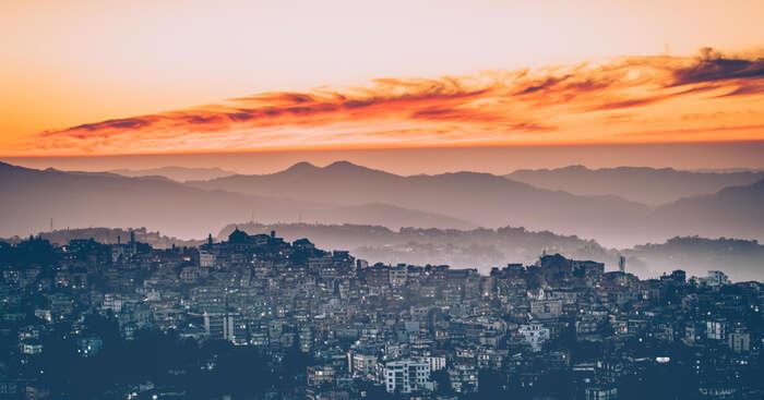 City view of Mizoram