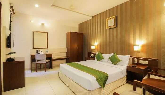 elegantly designed rooms