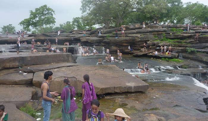 Vindham Waterfalls Near Varanasi