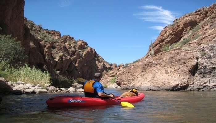 Wadi Adventure Kayaking