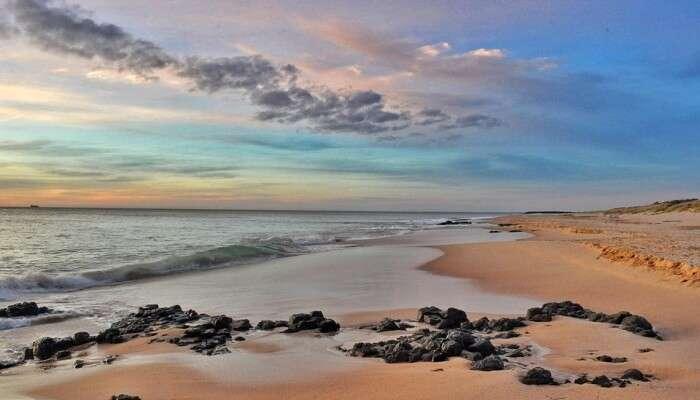 Walk Along the Coast At Mandwa Beach