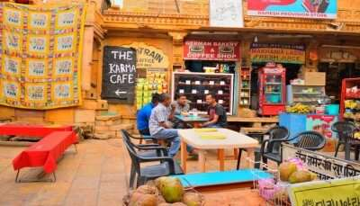 Best Cafes In Jaisalmer