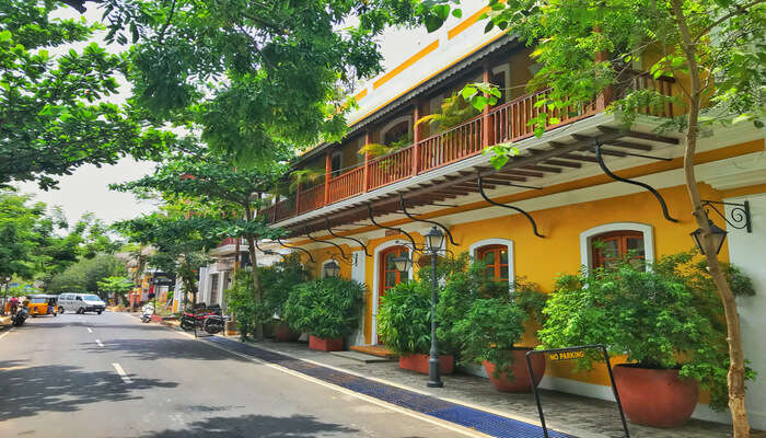 Most Famous Hotels in Pondicherry