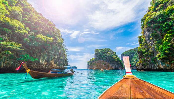Islands Near Phi Phi