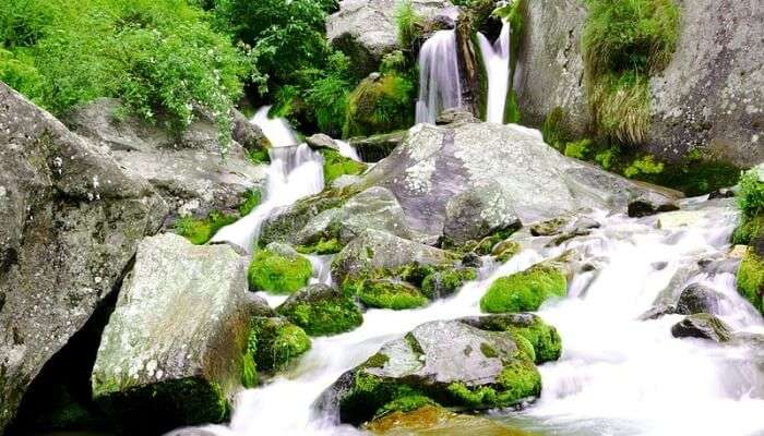 Admire Panchpula Waterfall, Dalhousie