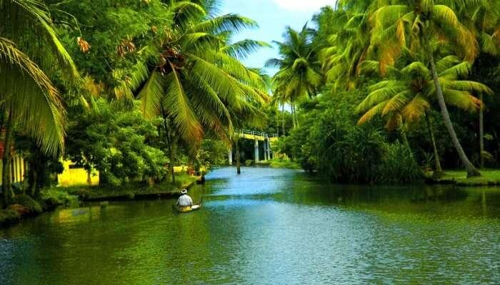 back water in Kerala
