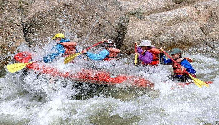Try White water Rafting