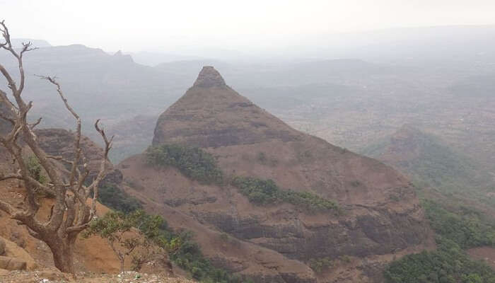 Beautiful View From The Tiger's Point, Lonavala