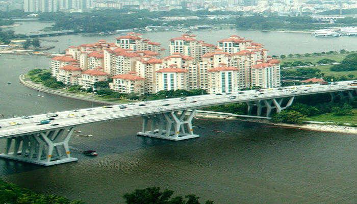 one the longest bridges in Singapore