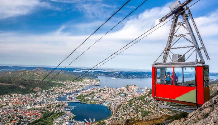 View of Bergen
