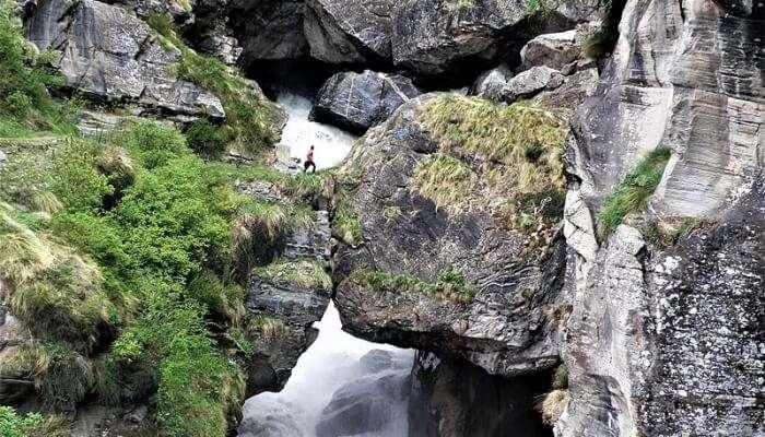 natural bridge of stones
