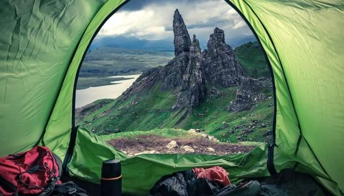 Camping In Scotland