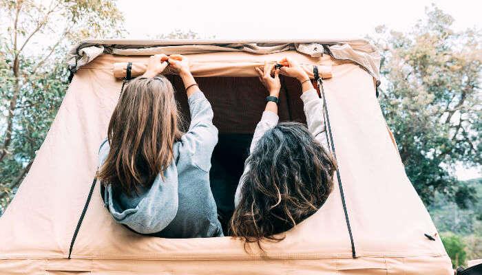 Enjoying Camping